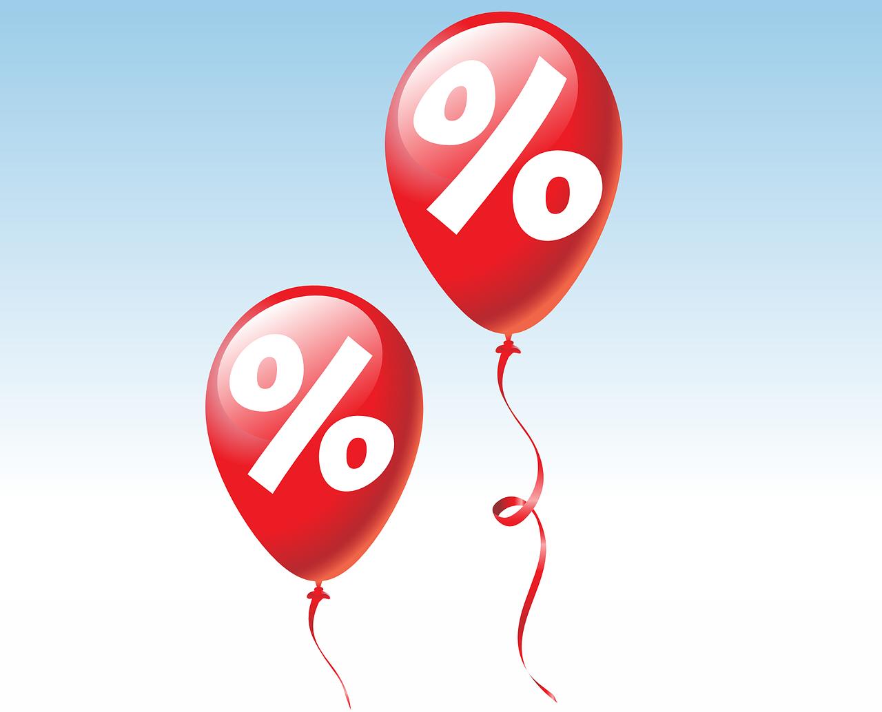 prosenttipallot